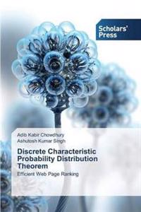 Discrete Characteristic Probability Distribution Theorem