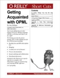 Getting Acquainted with OPML