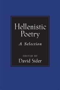 Hellenistic Poetry