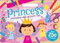 Princesses Colouring Pad