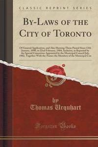 By-Laws of the City of Toronto
