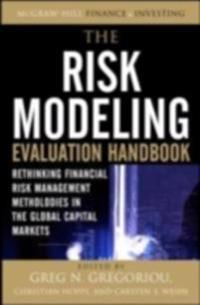 Risk Modeling Evaluation Handbook: Rethinking Financial Risk Management Methodologies in the Global Capital Markets