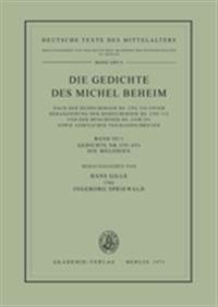 Gedichte Nr. 358–453. Die Melodien