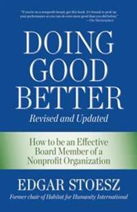 Doing Good Better