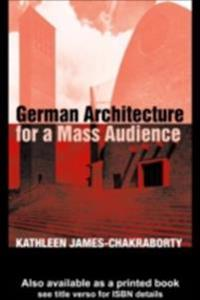 German Architecture for a Mass Audience