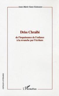 Driss chraibi: de l'impuissance de l'enf