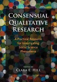 Consensual Qualitative Research