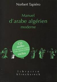 Manuel d'Arabe Algerien Moderne