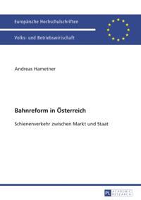 Bahnreform in Oesterreich