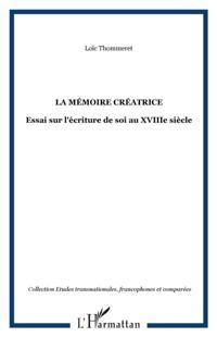 Memoire creatrice