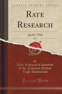 Rate Research, Vol. 5