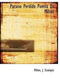 Paraiso Perdido Poema de Milton