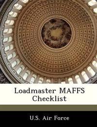 Loadmaster Maffs Checklist