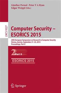 Computer Security Esorics 2015
