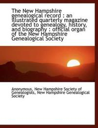 The New Hampshire Genealogical Record