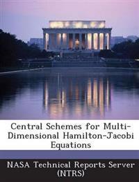 Central Schemes for Multi-Dimensional Hamilton-Jacobi Equations