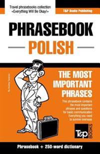 English-Polish Phrasebook and 250-Word Mini Dictionary