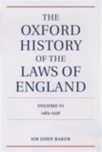 Oxford History of the Laws of England Volume VI