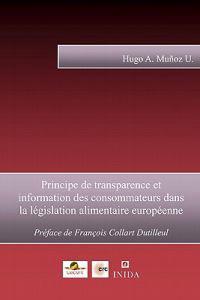 Principe de Transparence Et Information Des Consommateurs Dans La Legislation Alimentaire Europeenne