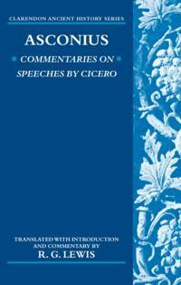 Asconius Commentaries on Speeches of Cicero
