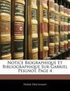 Notice Biographique Et Bibliographique Sur Gabriel Peignot, Page 4