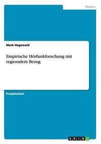 Empirische Horfunkforschung Mit Regionalem Bezug