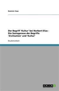 Der Begriff 'Kultur' Bei Norbert Elias