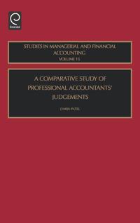 A Comparative Study of Professional Accountants' Judgement