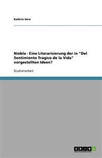 """Niebla - Eine Literarisierung der in """"Del Sentimiento Tragico de la Vida"""" vorgestellten Ideen?"""