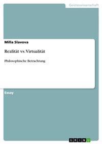 Realitat vs. Virtualitat