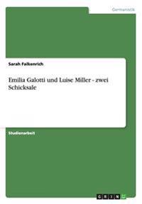 Emilia Galotti Und Luise Miller - Zwei Schicksale