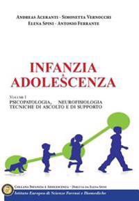 Infanzia E Adolescenza (Vol 1): Psicopatologia, Neurofisiologia, Tecniche Di Ascolto E Di Supporto