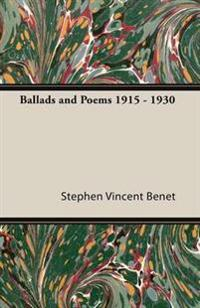 Ballads and Poems 1915 - 1930