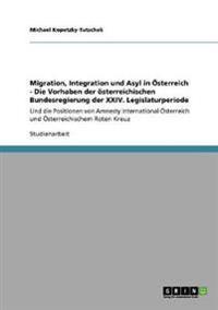 Migration, Integration Und Asyl in Osterreich - Die Vorhaben Der Osterreichischen Bundesregierung Der XXIV. Legislaturperiode