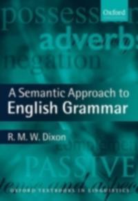 Semantic Approach to English Grammar