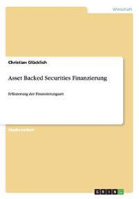 Asset Backed Securities Finanzierung
