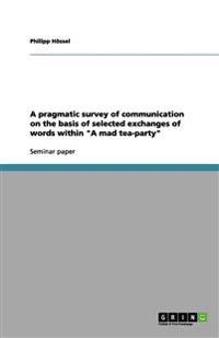 "A pragmatic survey of communication on the basis of selected exchanges of words within ""A mad tea-party"""