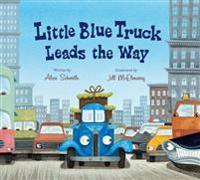 Little Blue Truck Leads the Way (Lap Board Book)