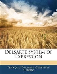 Delsarte System of Expression