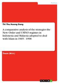 A Comparative Analysis of the Strategies the New Order and Umno Regimes in Indonesia and Malaysia Adopted to Deal with Islam in 1965 - 1998