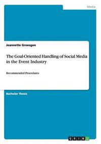 The Goal-Oriented Handling of Social Media in the Event Industry
