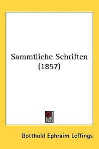 Sammtliche Schriften (1857)