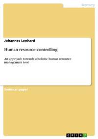 Human Resource Controlling