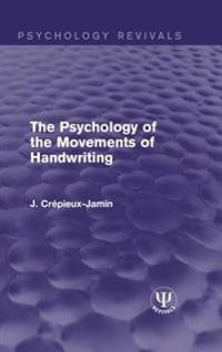 Psychology of the Movements of Handwriting