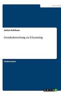 Genderforschung Zu E-Learning