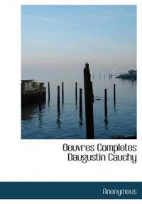 Oeuvres Completes Daugustin Cauchy