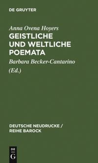 Geistliche und Weltliche Poemata