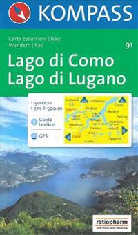Aqua3 Kompass 091: Lago DI Como