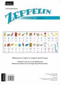 Zeppelin 1-4. Alfabetremser. Stavskrift. Farger. Norsk for barnetrinnet