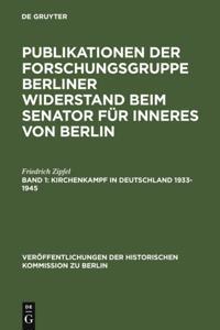 Kirchenkampf in Deutschland 1933-1945